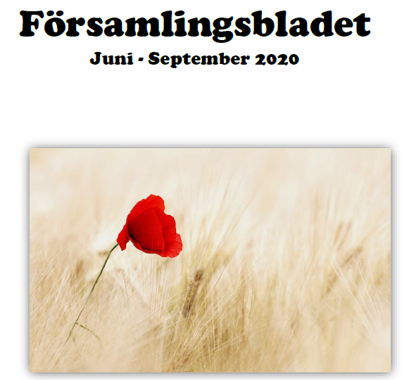 Nytt församlingsblad juni-sept 2020